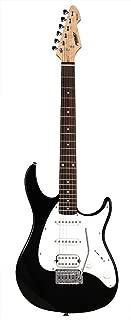 Peavey 6 String Electric Guitar Pack, Right Handed (RAPTORPLUSBLACK)