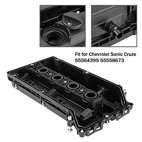 Ensun 55564395 Engine Valve Cover with Screw & Gasket for Chevrolet Aveo Cruze Sonic 1.8L