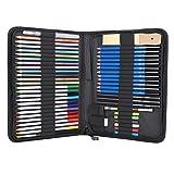 Juego de lápices de colores Lápices de colores con bolsa de nailon, para pintar, escribir, tatuar y crear arte personalizado