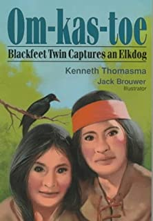 Om-Kas-Toe Blackfeet Twin Captures an Elkdog