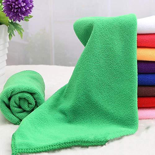 LASISZ Microfibre Towel Soft Fibre for Swimming Pool Camping Travel Sports Yoga Quick-Drying Bathroom Towels Supplies 25 * 25cm/30 * 70cm,Chocolate,S