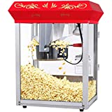 Home 83-DT5655 Northern Popcorn Company 6129 GNP-850 Classic Style Top Popper Machine, 8 oz,...