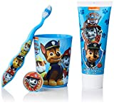 Patrulla Canina | Neceser infantil | Dentífrico + cepillo dental + vaso | Diseño divertido |