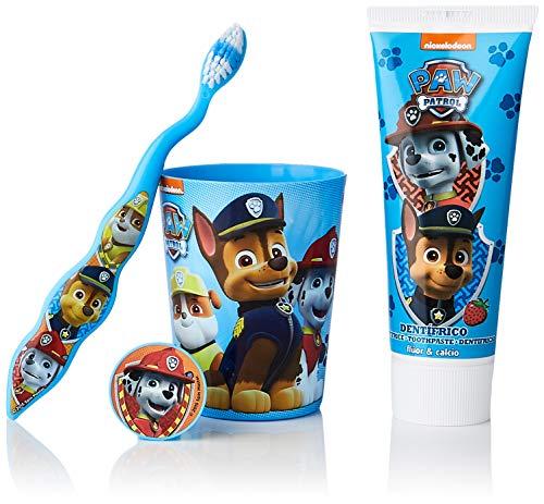 Patrulla Canina | Neceser infantil | Dentífrico + cepillo dental + vaso...