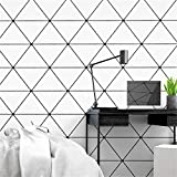 Mural Fotomural Papel Pintado Fondo De Estilo Nórdico Papel Tapiz Moderno Minimalista Geométrico Triángulo Salón Dormitorio Papel Tapiz Papel De Parede