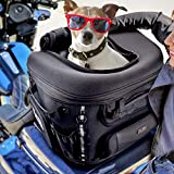 Sresk Motorcycle Dog/Cat Carrier Bag Pet Voyager Pet Travel Bag for...