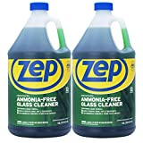 Zep Ammonia Free Glass Cleaner Concentrate ZU1052 (Pack of 2) Professional Strength