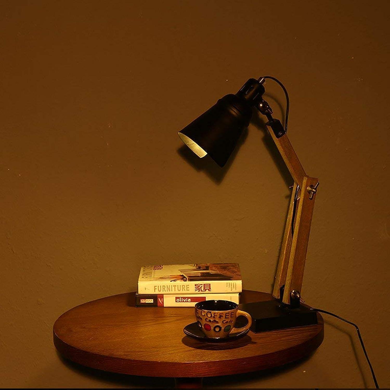 AME Tischlampe American Fashion Kreative Tischlampe Personalisierte Personalisierte Personalisierte Handwerk Industrie Wind Lange Arm Tischlampe Studie Schlafzimmer, Silber, H50Cm  W15Cm B07JVNY4V6       Up-to-date Styling  fc5c48