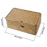 Vosarea cesta de almacenamiento de ratán cesta de algas