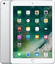 Apple 2017 iPad 32GB Wi-Fi + Cellular - Silver (MP252LL/A) Silver 32 GB (Renewed)