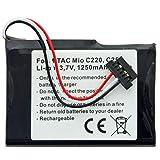 AccuCell PNA3040 - Batería para Mitac Mio C220, C230, C250