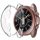 Hianjoo Hülle Kompatibel mit Samsung Galaxy Watch3 (41mm),
