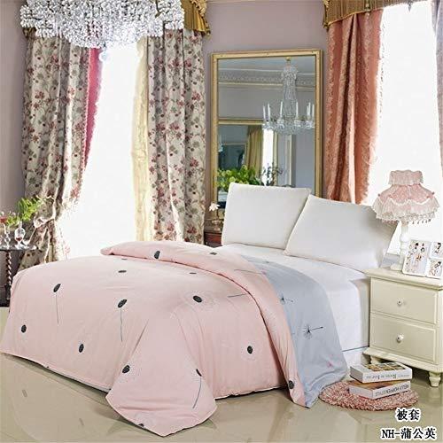KLLT dekbedovertrek, zacht, ademend, voor kinderen, slaapkamer, bed, met omkeerbaar overtrek, katoen, beddengoed, 220 x 240 cm, voor studenten, dekbedden, uniek