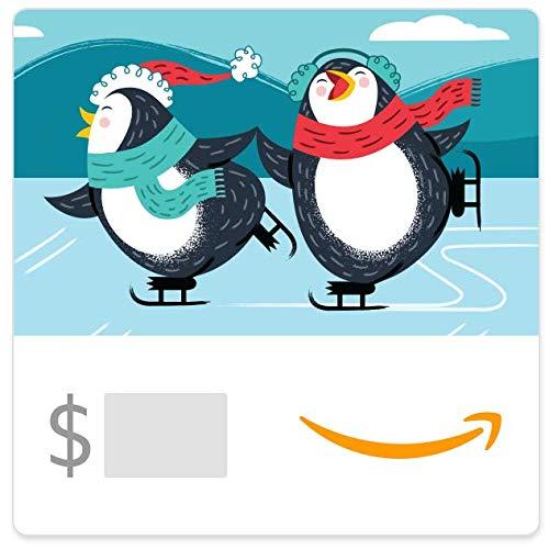 Amazon eGift Card - Skating Penguins