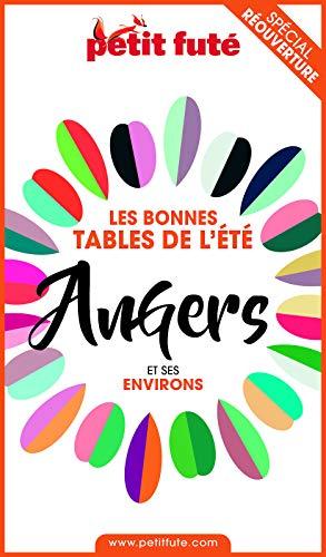Couverture du livre BONNES TABLES ANGERS 2020 Petit Futé