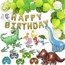 4. Belec Dinosaur Party Decorations Complete Set (74 pcs)