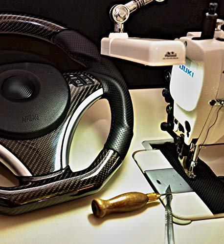Onpira - Wir beziehen Ihr Lenkrad Neu mit Leder Farbleder Alcantara | Reparatur | Individualisierung | Optional Mit: Daumenauflagen, Sportumbau, Abflachen!