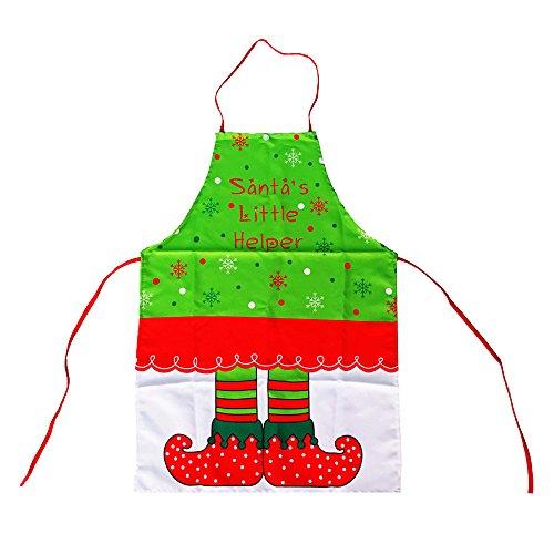 Alxcio Noël Tabliers de Cuisine Accueil Jardinage Restaurant Cuisson Tablier Pour Unisexe Femmes Fille Chef, Génie Style,Taille 50*70cm