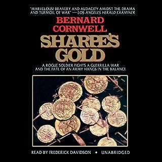 Sharpe's Gold audiobook cover art