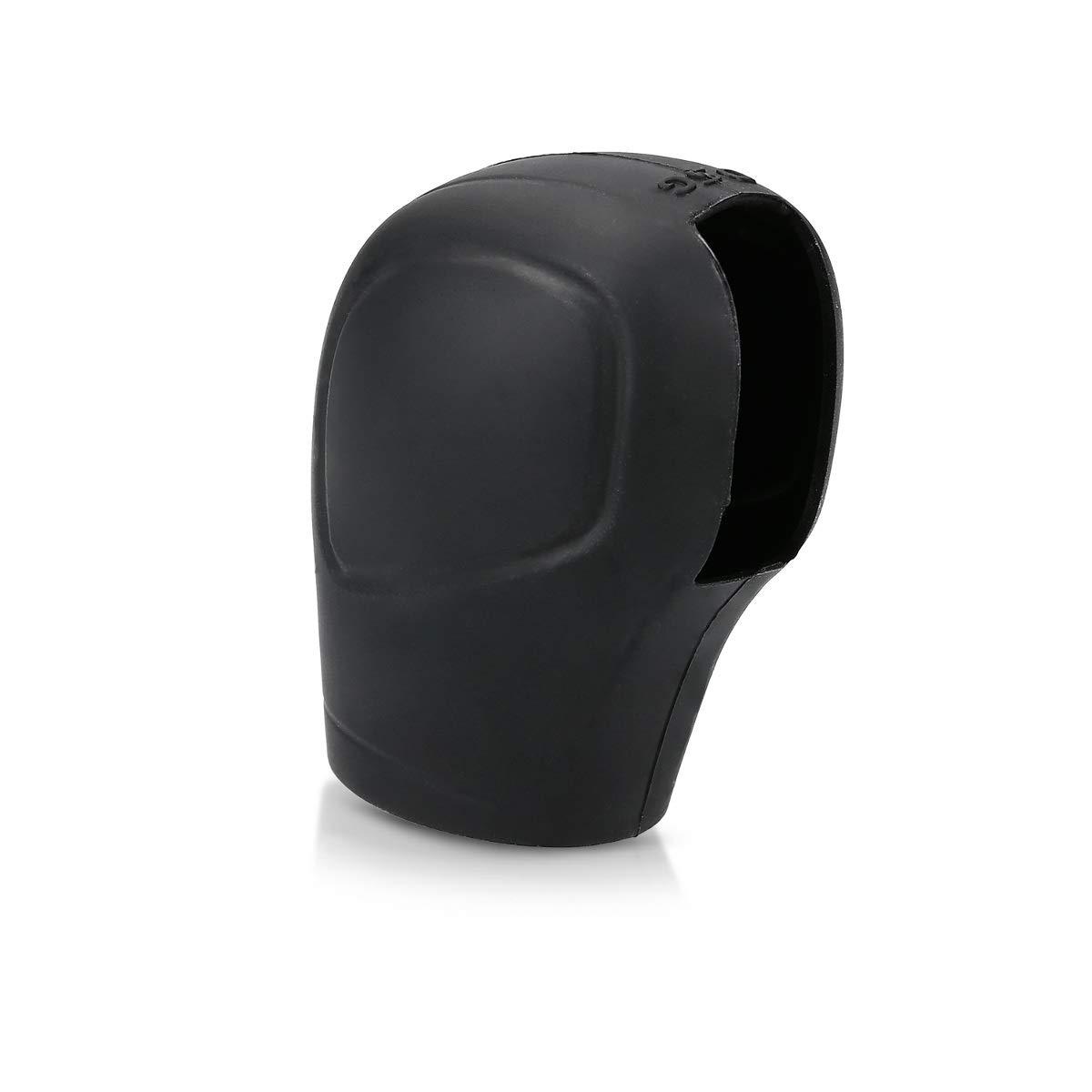 sourcingmap Universal Car Antislip Gear Shifter Shift Knob Cover Sleeve Black