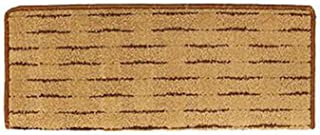 JIAJUAN Rectangle Stair Carpet Treads Self Adhesive Thicken Step Mats Wooden Steps Nordic, 14mm, 5 Styles, 4 Sizes (Color ...