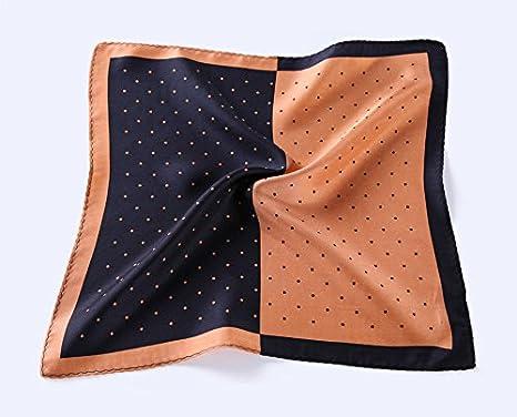 HISDERN Mens Paisley Pocket Square Handkerchief