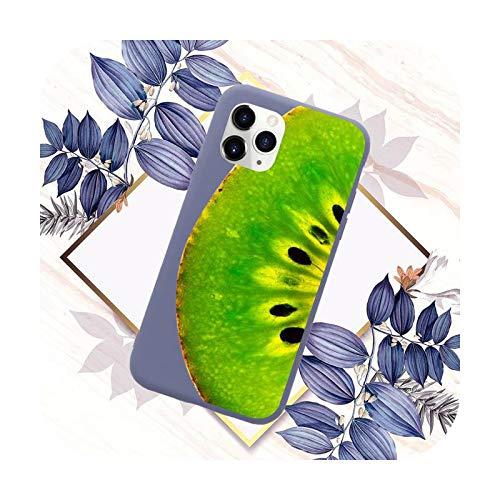 Gran fruta de la moda del teléfono caso de color caramelo para iPhone 11 12 mini pro XS MAX 8 7 6 6S Plus X SE 2020 XR-a6-6Plus 6SPlus
