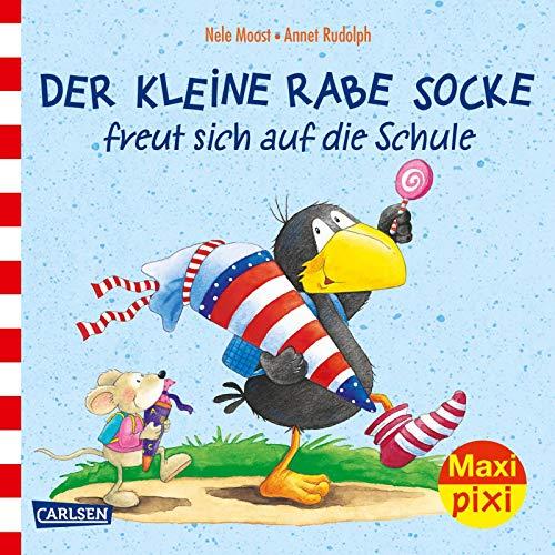 Maxi Pixi 315: Rabe Socke freut sich auf die Schule (315)