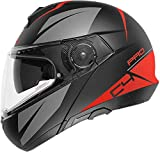 SCHUBERTH 4549143360 C4 Pro – Casco para moto unisex – Adulto, rojo (Merak Red), 57 (M), 1 pieza
