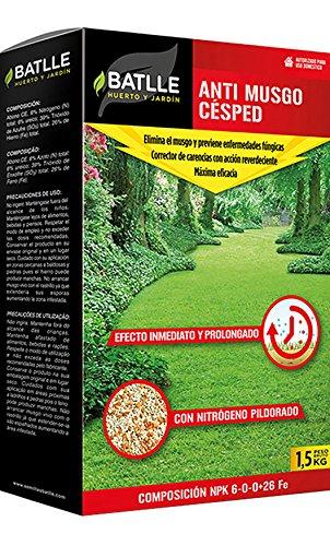 Abonos - Fertilizante Anti Musgo Césped Caja 1 kg. - Batlle