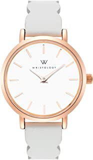 Charlotte - 4 Options - Lines Womens Watch Rose Gold
