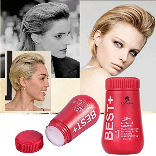 Hair Powder, Plus Dust It Conditioner, Dry Shampoo Powder Laziness People Hair Treatment Powder Greasy Hair Quick Dry Powder Disposable Hair Powder 10g
