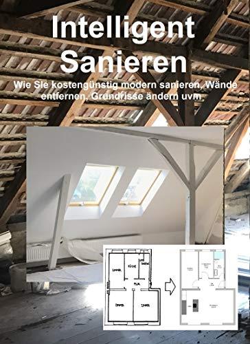 Intelligent Sanieren: Wie Sie kostengünstig modern sanieren, Wände entfernen, Grundrisse ändern uvm.