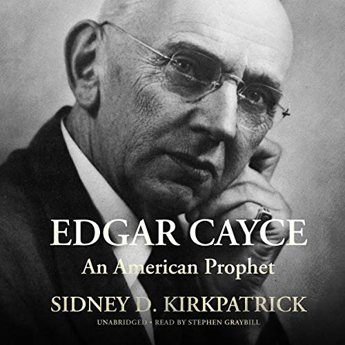 Edgar Cayce audiobook cover art