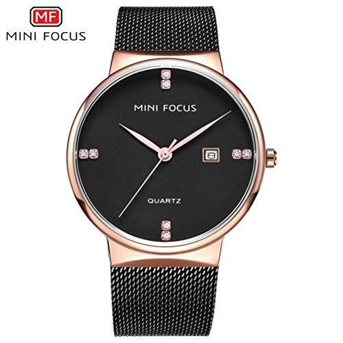 xisnhis schöne Uhren Mini konzentrieren Sich männer auf mf0181g Quarz Mode Strass männer gucken