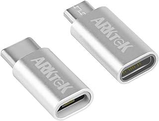 「2個セット」 USB Type C 変換アダプタ セット- USB タイプC → マイクロ USB ケーブル 変換 アダプター 充電 データ転送 Xperia One S20 Pixel 4, Z5P Galaxy S7 他対応