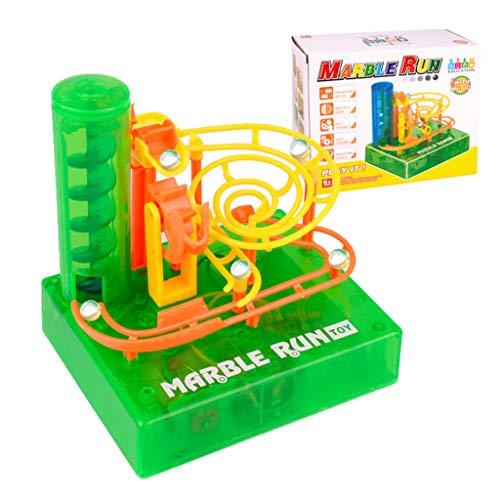 jiheousty DIY Electric Maze Ball Track Marble Race Run Blocks Bloques de construcción insertados para niños Niños Educación temprana Rompecabezas Juguetes Regalo