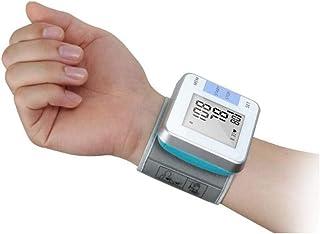 Life HS Esfigmomanómetro, esfigmomanómetro de muñeca automático BP Pantalla esfigmomanómetro de Almacenamiento de Memoria del Manguito de presión Arterial portátil Cuidado del hogar portátil