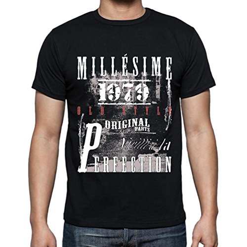Tee Shirt Homme 1979 Cadeau d'anniversaire 42 Ans,Cadeaux,Anniversaire,Manches Courtes - Homme T-Shirt
