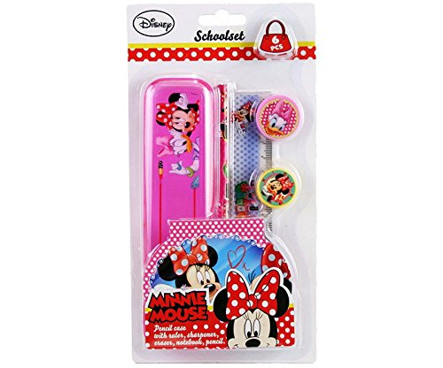 set papeterie disney minnie