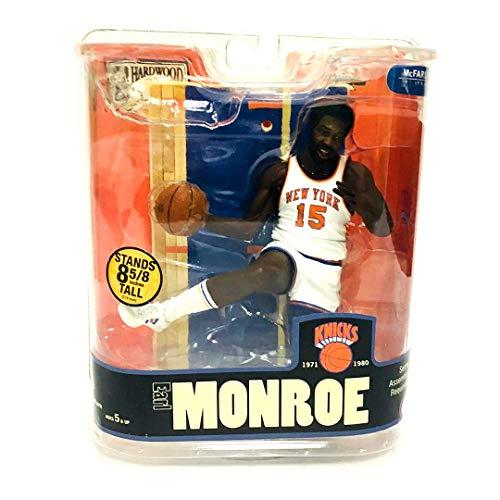 New York Knicks NBA McFarlane Legends Series 3 Earl Monroe Figura de acción