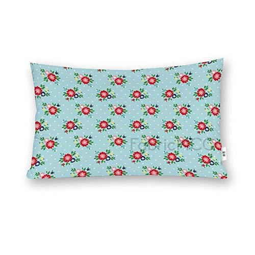 JamirtyRoy1 Funda de almohada para cuerpo, Simple Goodness, fundas de almohada floral, funda de almohada súper suave con cremallera oculta, funda de cojín lateral de 50 x 76 cm de largo.