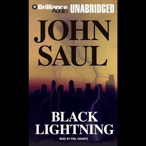 Black Lightning audiobook cover art