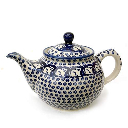 Bunzlauer Teekanne 800 ml (Dekor Garfield)