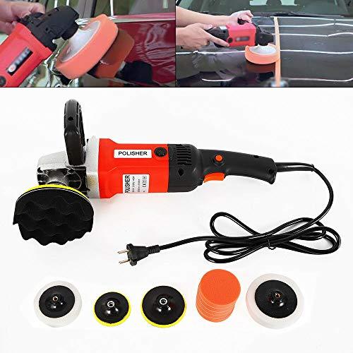 Poliermaschine Polierer polieren Kfz Werkzeug Auto Poliermaschine kit 1400W mit 0-3000U/min Polierteller