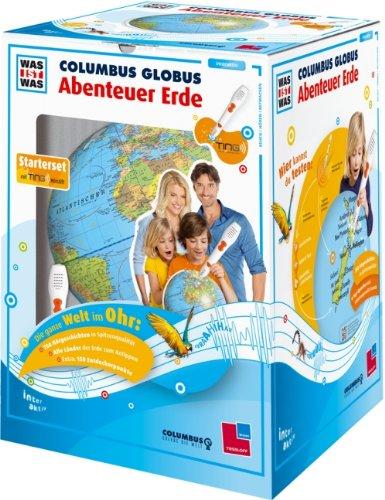 """TING Starter-Set: WAS IST WAS Columbus Globus \""""Abenteuer Erde\"""": Mit Hörstift!"""