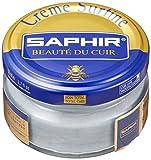 Saphir Cirage Crème Surfine Pommadier 50 ml ARGENT Métallisé 24 (RAL 9006)