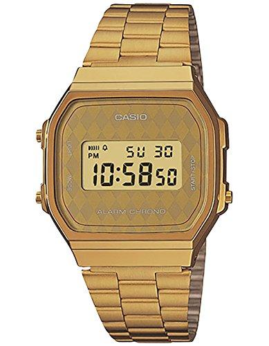 Casio Unisex Classic A168WG-9BWVT Vintage Watch Gold