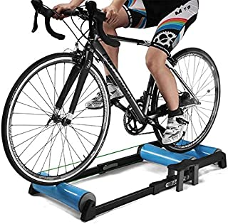 Bike Resistance Trainers Indoor,Bicycle Roller Riding Exercise Platform Road Bike Roller Training Table Spinning Bicycle f...