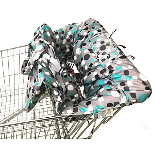 Shopping Cart Cover | High Chair and Grocery Cart Cover for Babies, Kids,...